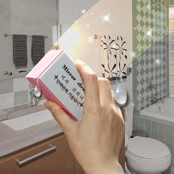 욕실거울유리닦기/유리닦이/베란다/청소도구/자동