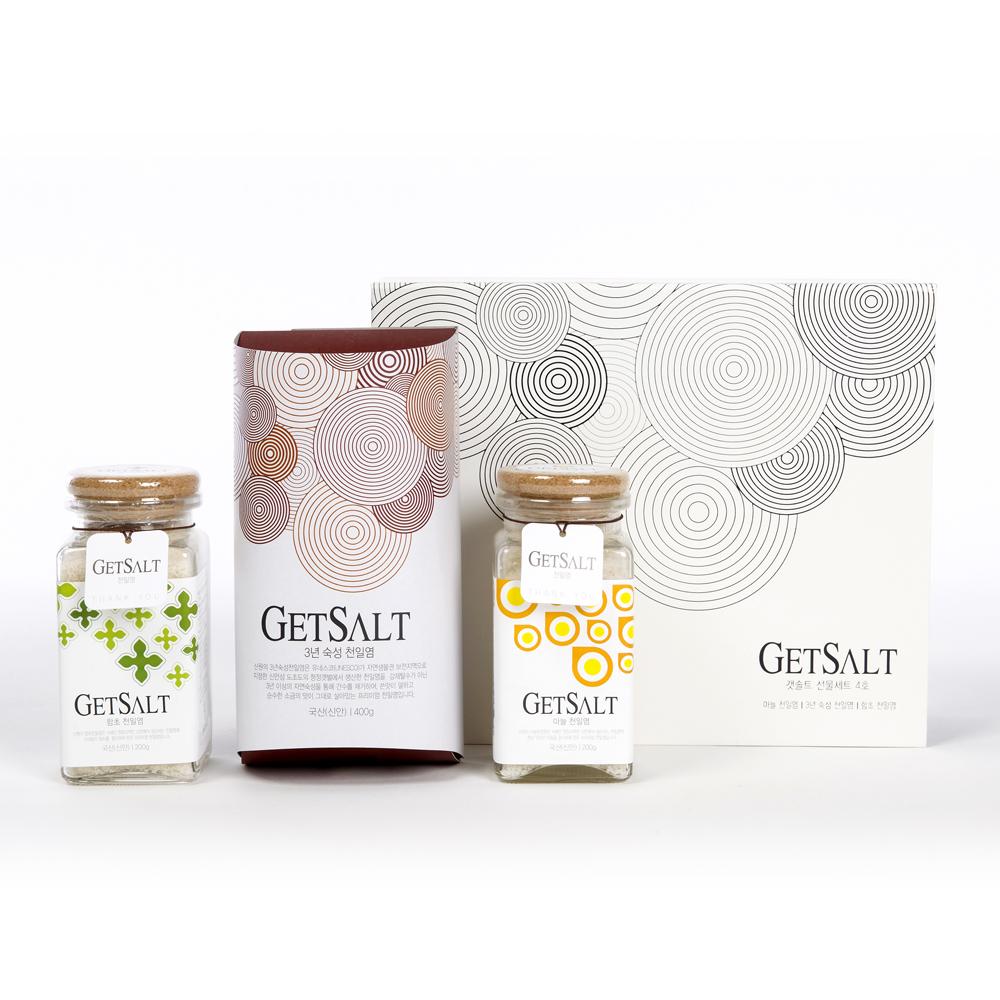 GETSALT 4호/소금/천일염/묵은소금/선물