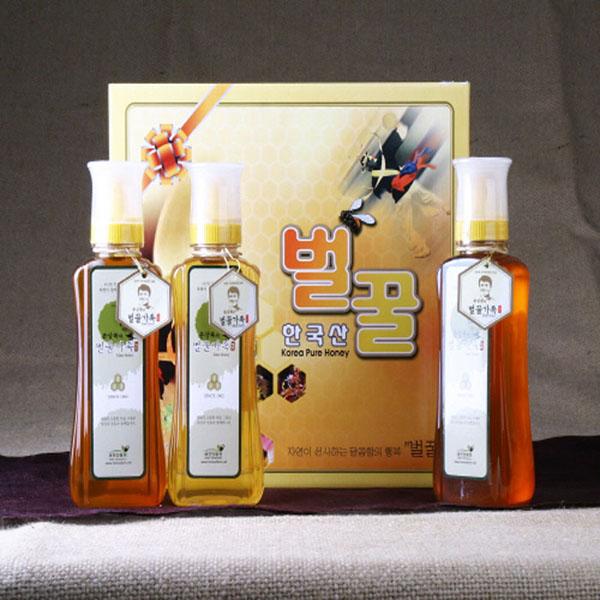 에덴양봉원_튜브 선물세트1호 1.5kg/꿀/벌