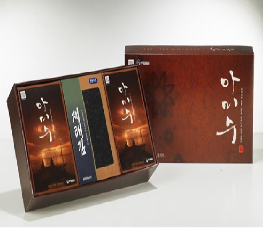 아미수 공경세트6호/김선물세트/재래김선물/멸치