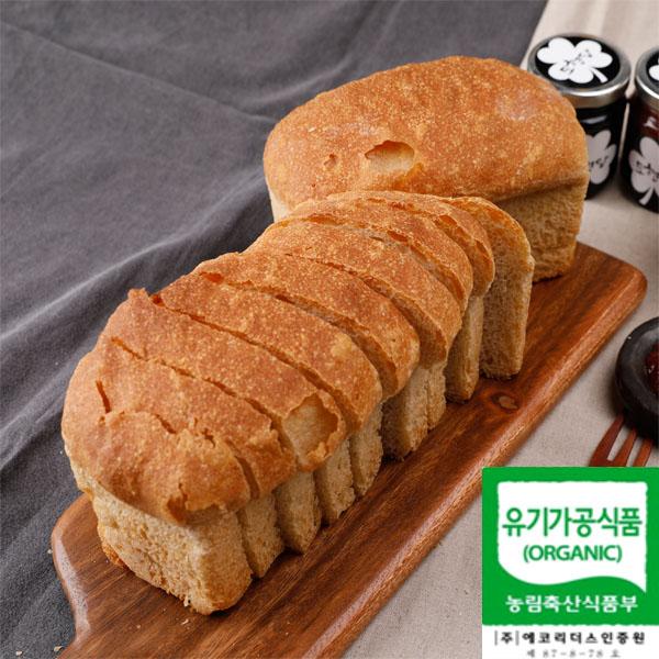 유기농우리밀통밀빵 무설탕빵 100%통밀빵 속이