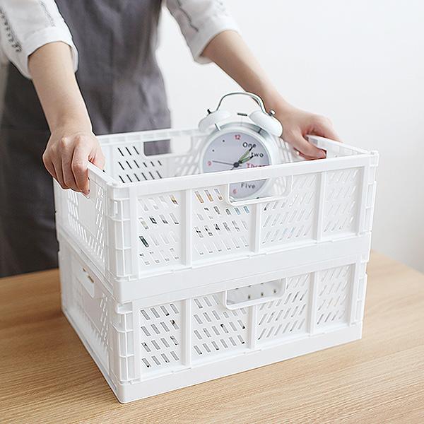 일본생산 공간활용 인테리어정리함 폴딩박스 ITEM BOX