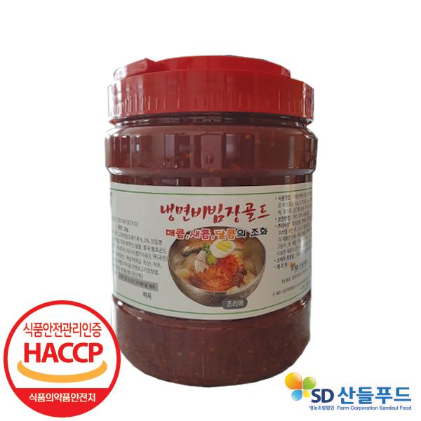 고두래 냉면비빔장 2kg*1통/고두래냉면비빔장