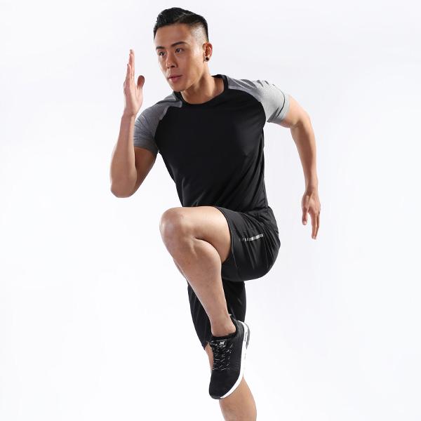 KAA-W01 커플남자반팔운동복셋트/헬스복