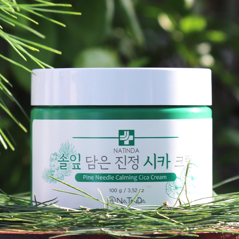 나틴다 솔잎 담은 진정 시카크림 100g/나틴