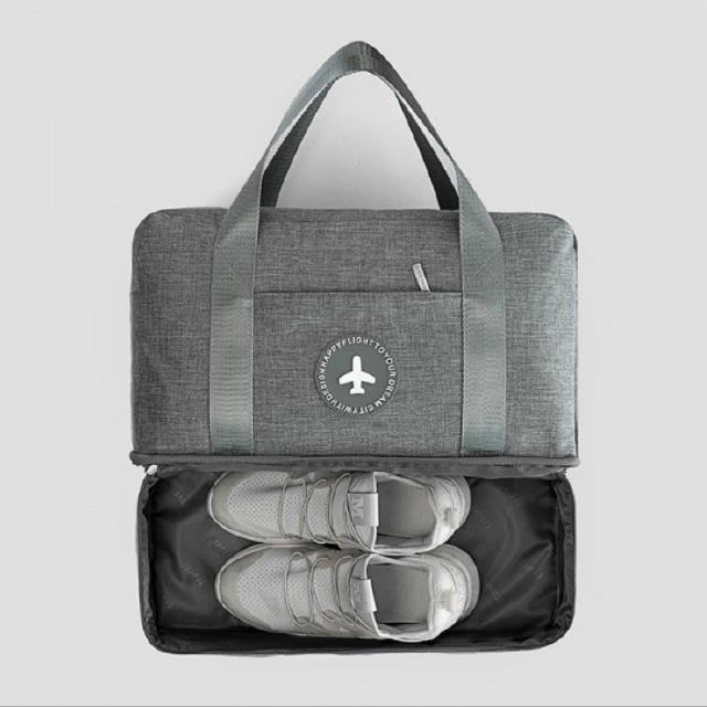 신발도 따로 보관되는 여행용가방/신발주머니가방