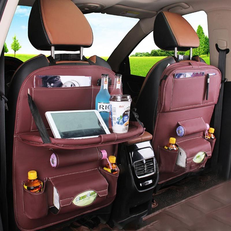 차량용 테블릿 거치 자동차 뒷자석 수납함 시트
