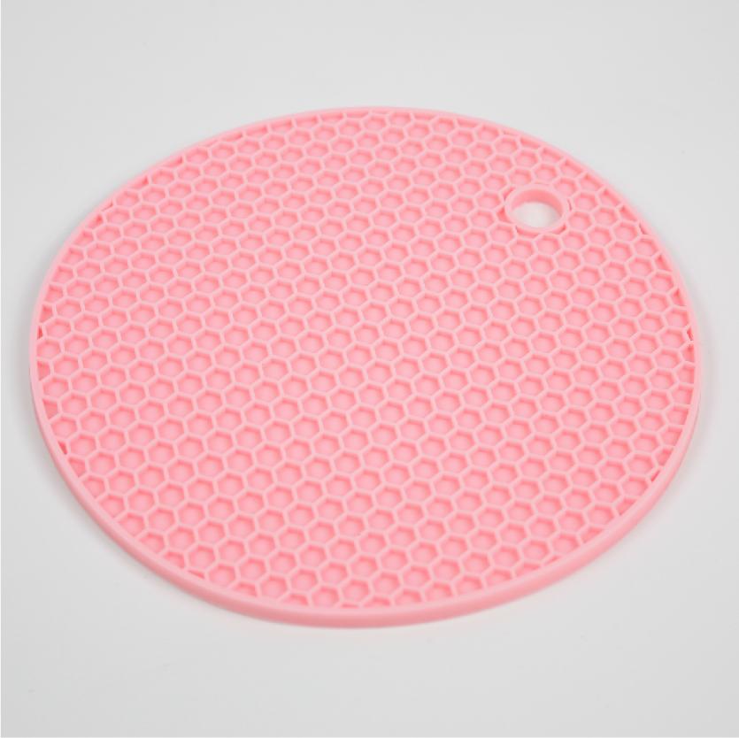 [네모난오렌지] 파스텔젤리 냄비받침 안전한 실리콘소재