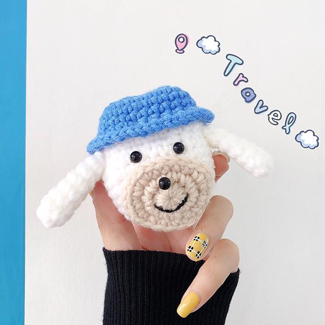 니트 강아지 에어팟 케이스1세대/2세대/겨울/