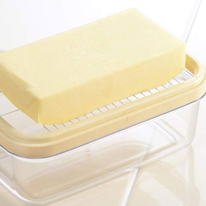 [요시카와] 일본 베이킹 버터 커팅 보관함 200g