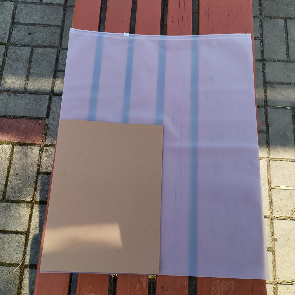 여행용 휴대용 지퍼백 파우치 7호(40x50CM)x10개