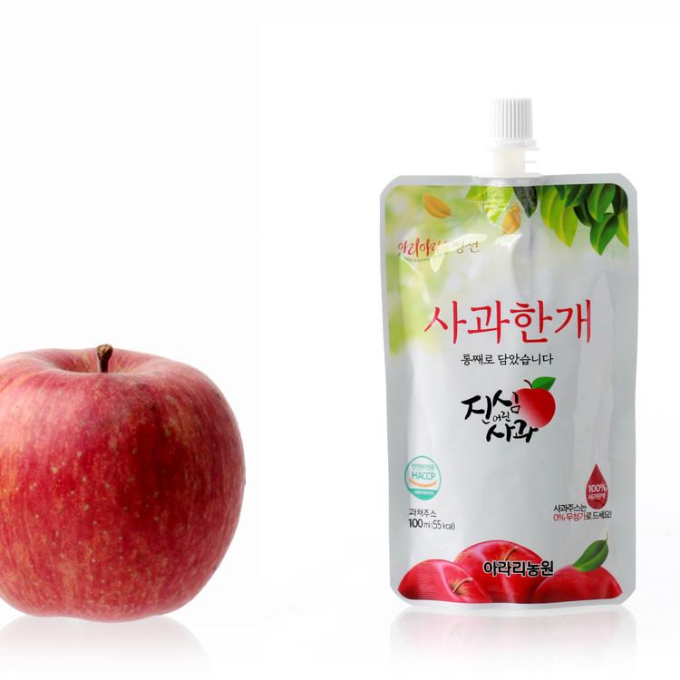 [애드볼165개] 강원 정선 고랭시 사과로 만든 아라리농원 사과