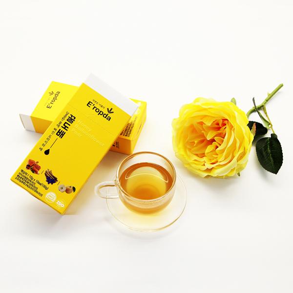 목에좋은 꿀 도라지배 생강 꿀도배 10gx10ea