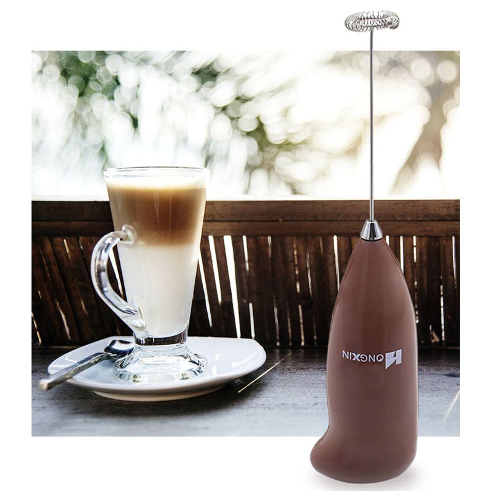 신광 전동 미니거품기(EFM-001)-전동거품기 우유 라떼(색상랜덤)