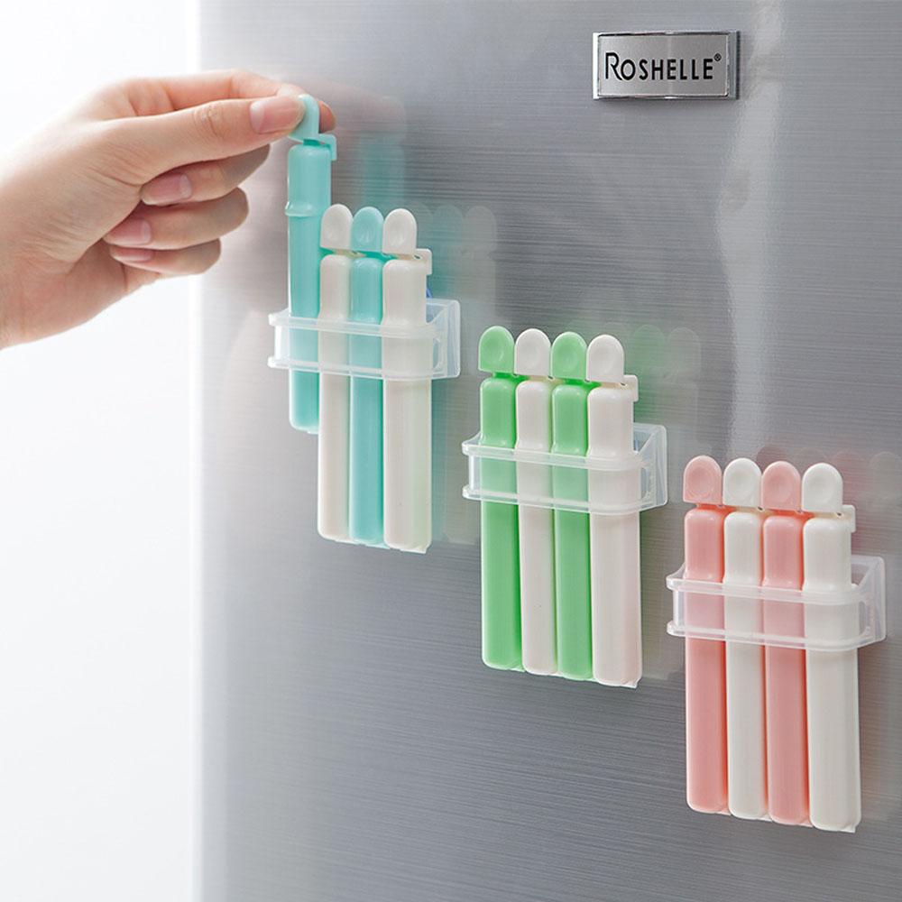 냉장고 부착 밀봉클립
