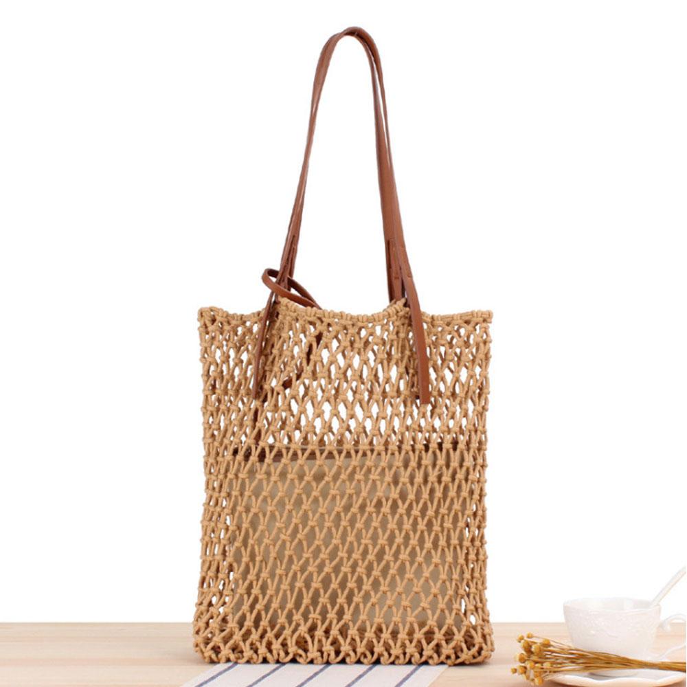 [애드볼62개] 여성 여름 가방 네트 그물백 바캉스 휴양지 숄