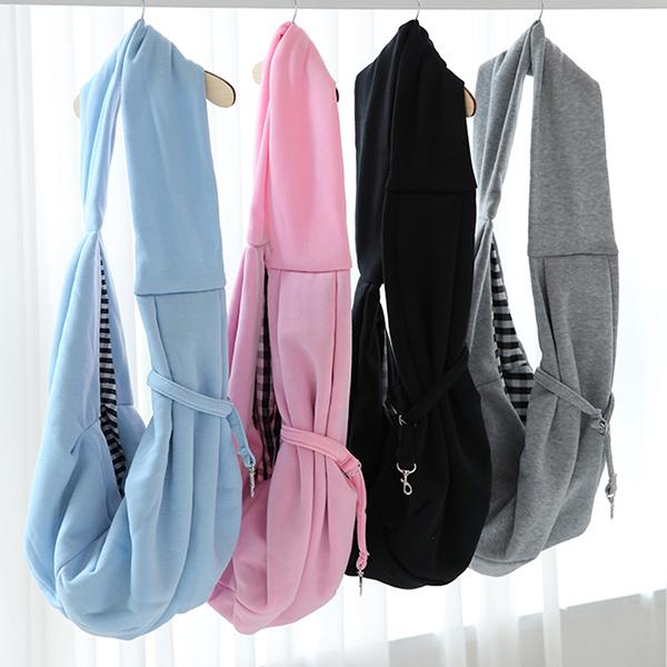 강아지 슬링백 산책 이동가방 포대기 4color