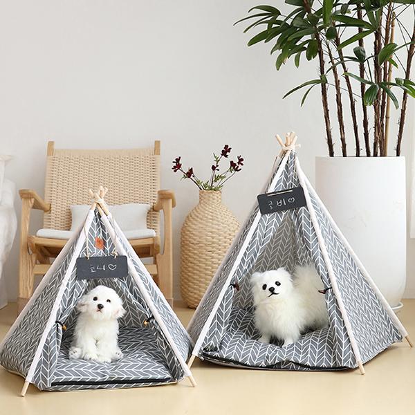 강아지 텐트 애견 하우스 size소 (5color)