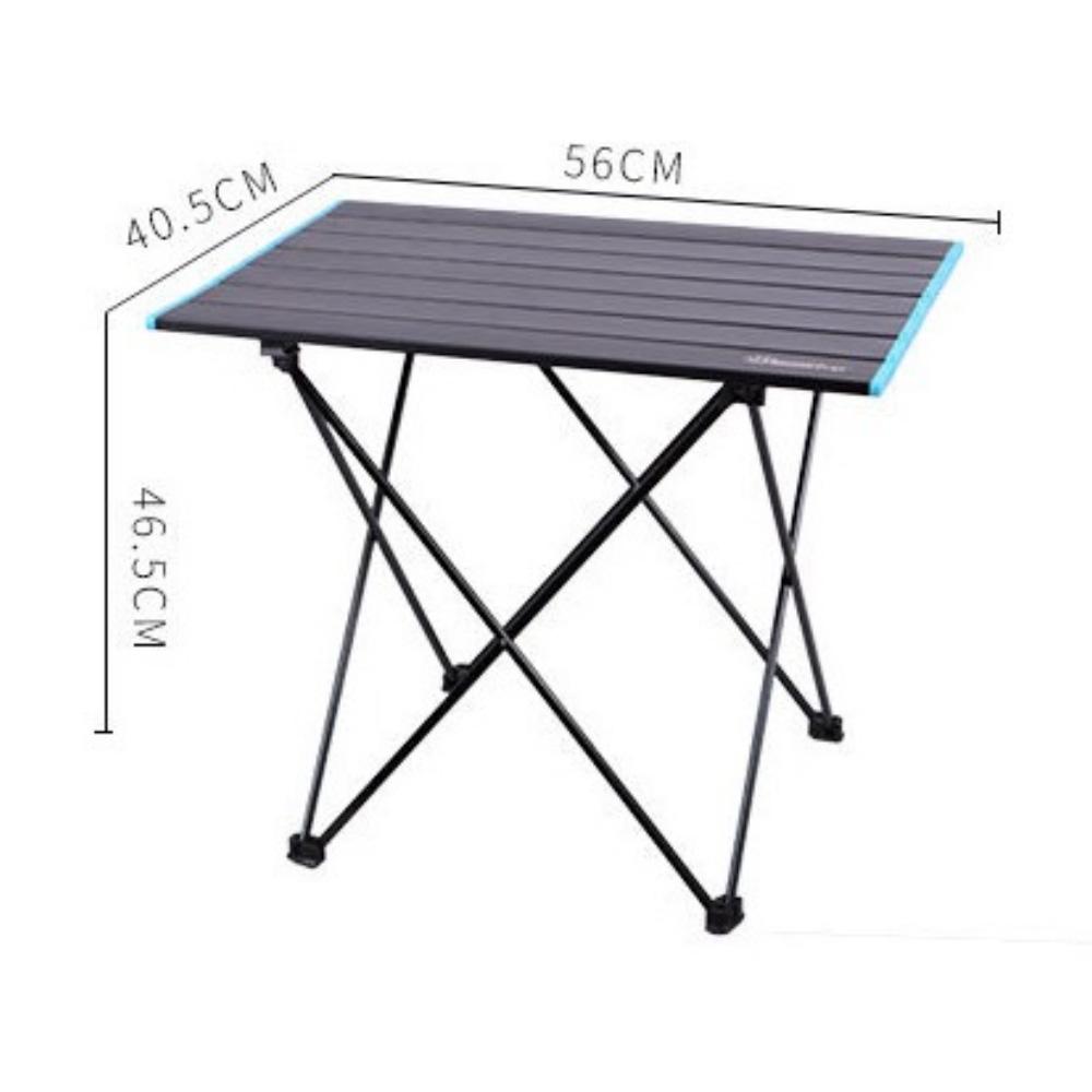 감성 캠핑용 롤테이블 접이식 테이블