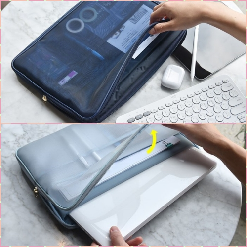 디지털 메쉬 노트북파우치 13.3인치