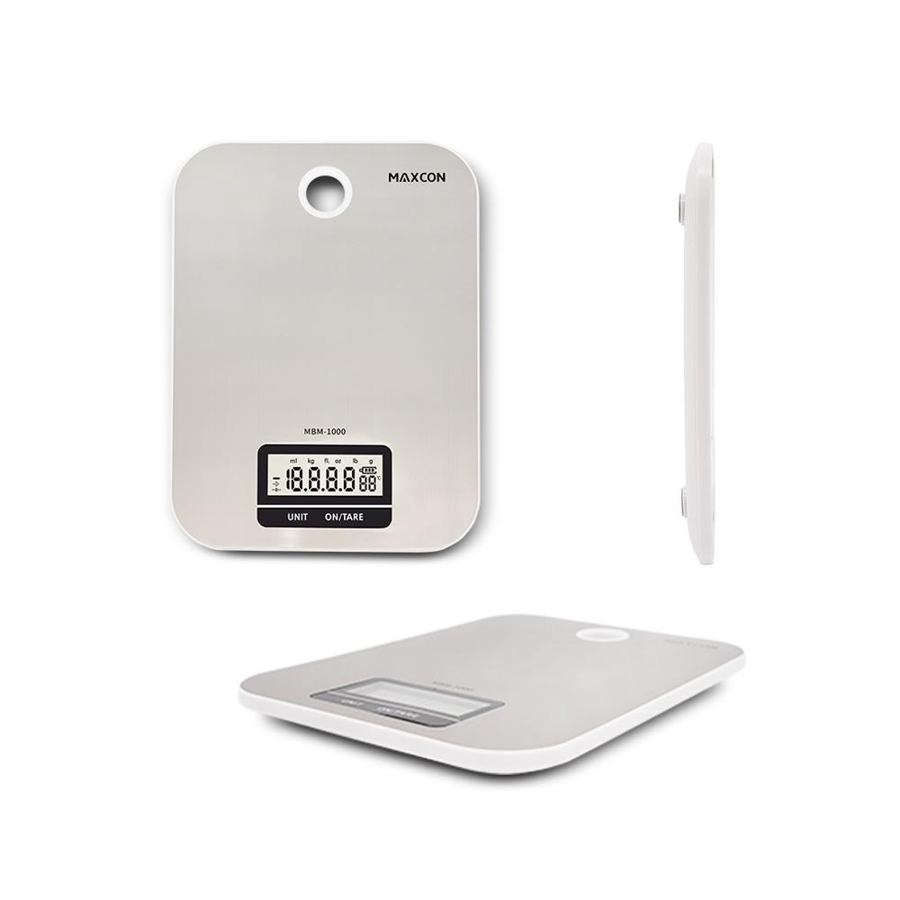 맥스콘 위생적이고 정확한 저울 디지털 주방 저울