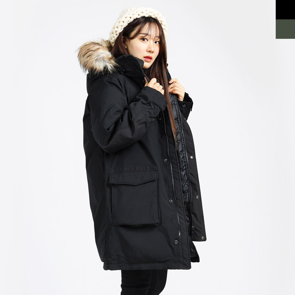 UND 6003 여자겨울야상패딩점퍼