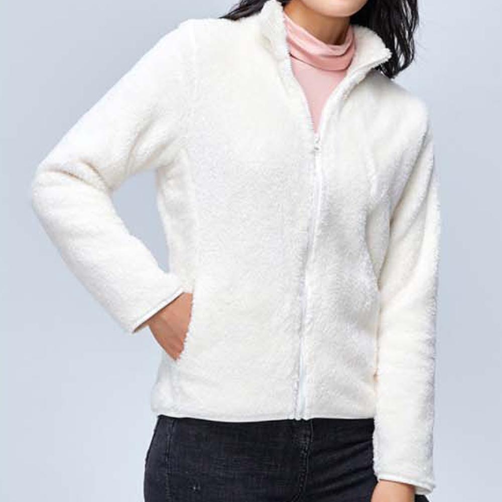 여자 집업 잠바 겨울 오피스룩 예쁜 방한 양털 작업복
