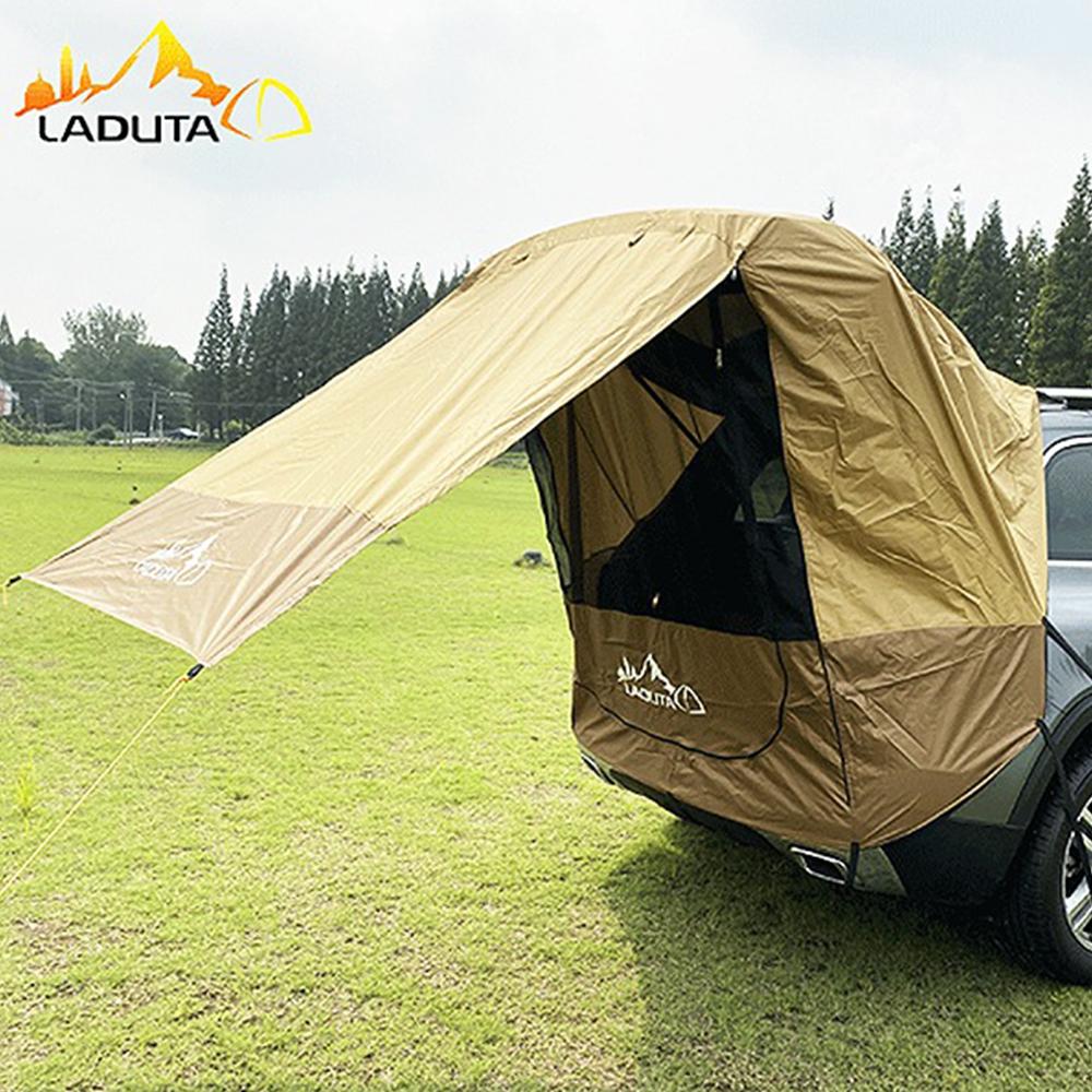차박 트렁크 텐트 타프 바람막이 10m로프+스토퍼증정
