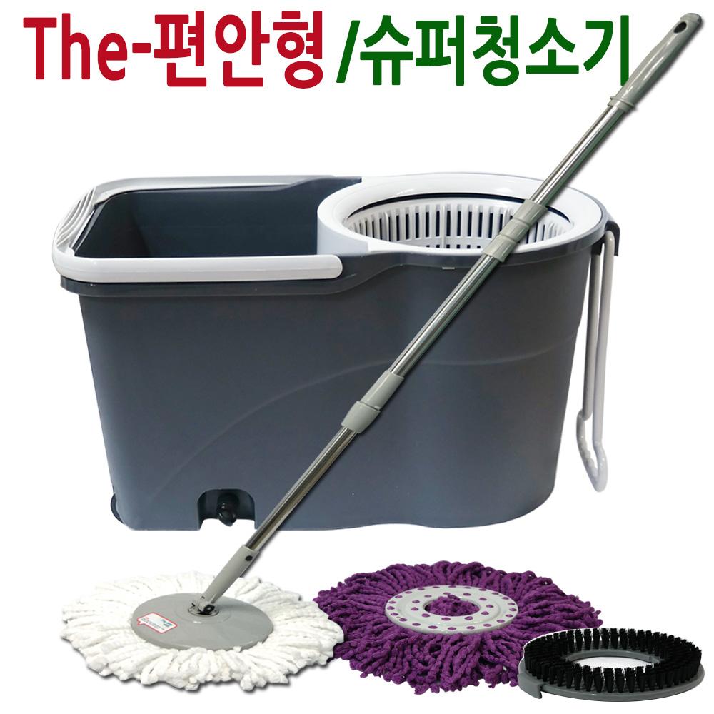 국산 슈퍼 퍼펙트 핸드스핀 청소기/기본형/세탁